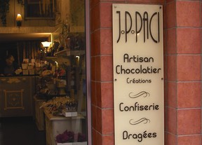 creation chocolat, jp paci, artisan chocolatier nice cannes