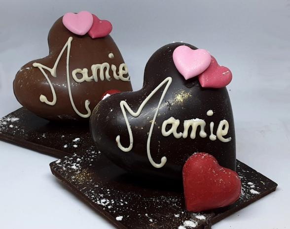 coeur, grand, mere, fete, mamie, creation, chocolat, jp, paci, chocolatier, nice, cannes, artisan