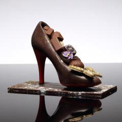 creation, chocolat, escarpin, luxe, louboutin, chocolat, jp paci, artisan, chocolatier, nice, cannes
